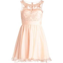 Sukienki: Luxuar Fashion Sukienka koktajlowa apricot