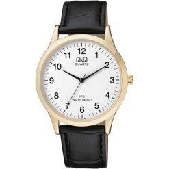 Biżuteria i zegarki męskie: Zegarek Q&Q Męski C212-104 Klasyczny Slim czarny