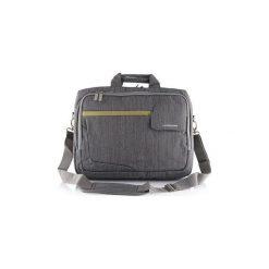 "Torba do laptopa MODECOM Graphite 15.6"". Szare torby na laptopa marki Modecom, w paski, z materiału. Za 135,71 zł."