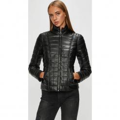 Morgan - Kurtka. Czarne kurtki damskie pikowane marki Morgan, z materiału. W wyprzedaży za 379,90 zł.