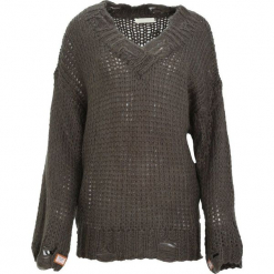 Zielony Sweter Obeisance. Zielone swetry klasyczne damskie Born2be, l. Za 79,99 zł.