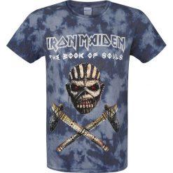 T-shirty męskie: Iron Maiden Book Of Souls T-Shirt ciemnoniebieski/czarny