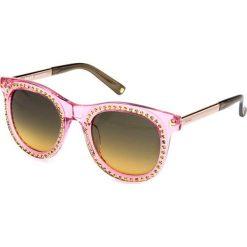"""Okulary przeciwsłoneczne damskie: Okulary przeciwsłoneczne """"BY2069A03"""" w kolorze różowym"""