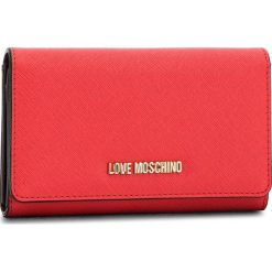 Duży Portfel Damski LOVE MOSCHINO - JC5553PP16LQ0500  Rosso. Czerwone portfele damskie Love Moschino, ze skóry ekologicznej. Za 369,00 zł.