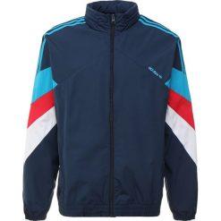 Adidas Originals PALMESTON Kurtka sportowa collegiate navy/bold aqua. Szare kurtki sportowe męskie marki adidas Originals, l, z nadrukiem, z bawełny, z kapturem. Za 379,00 zł.