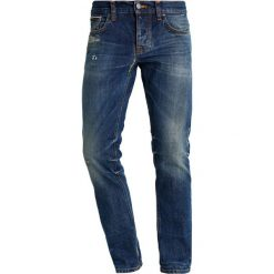 Spodnie męskie: Nudie Jeans GRIM TIM Jeansy Slim Fit blue denim