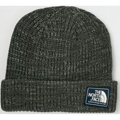 The North Face - Czapka. Szare czapki zimowe męskie The North Face, na zimę, z bawełny. W wyprzedaży za 99,90 zł.
