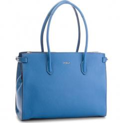 Torebka FURLA - Pin 963090 B BLS0 OAS Genziane e. Niebieskie torebki klasyczne damskie Furla, ze skóry. Za 1289,00 zł.