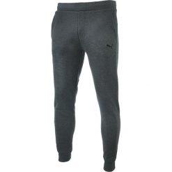 Spodnie męskie: Puma Spodnie męskie ESS Sweat Pants SLIM  grafitowe r. L (838266 07)