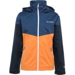 Columbia INNER LIMITS JACKET Kurtka hardshell koi/carbon. Niebieskie kurtki sportowe męskie Columbia, m, z hardshellu. Za 399,00 zł.