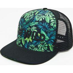 ea8806daa Czapka snapback z tropikalnym printem - Khaki. Brązowe czapki męskie House,  bez wzorów.