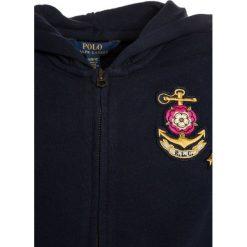 Polo Ralph Lauren GRAPHIC  Bluza rozpinana hunter navy. Niebieskie bluzy dziewczęce Polo Ralph Lauren, z bawełny. Za 339,00 zł.