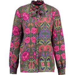 Koszule wiązane damskie: SET Koszula khaki red