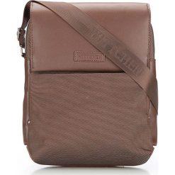 86-4P-102-4 Torba. Brązowe torby na ramię męskie marki Wittchen, w paski, z nylonu, duże. Za 149,00 zł.