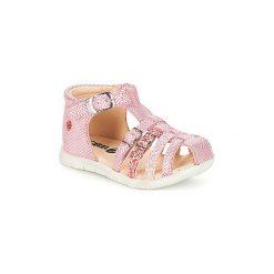 Sandały Dziecko  GBB  PERLE. Czerwone sandały dziewczęce GBB. Za 223,20 zł.