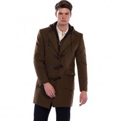 Płaszcz w kolorze brązowym. Brązowe płaszcze zimowe męskie AVVA, Dewberry, m. Za 539,95 zł.