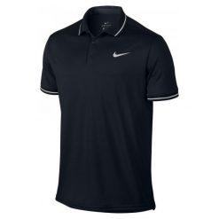 Nike Koszulka Tenisowa M Nkct Dry Polo Solid Pq Black L. Niebieskie koszulki polo marki Oakley, na lato, z bawełny, eleganckie. Za 149,00 zł.