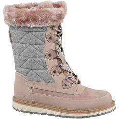 Śniegowce damskie Bench różowe. Czerwone buty zimowe damskie Bench, z materiału. Za 219,90 zł.