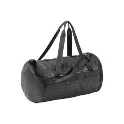Torba fitness kardio 20l. Czarne torebki klasyczne damskie DOMYOS, z materiału. Za 49,99 zł.
