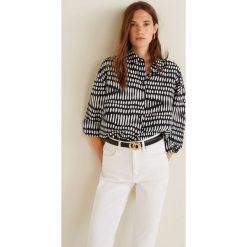 Mango - Koszula Line3. Szare koszule damskie marki Mango, l, z elastanu, klasyczne. Za 139,90 zł.