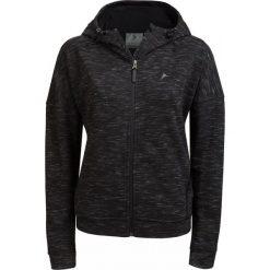 Bluza damska BLD608 - czarny melanż - Outhorn. Czarne bluzy rozpinane damskie Outhorn, na lato, melanż, z bawełny, z krótkim rękawem, krótkie. W wyprzedaży za 89,99 zł.