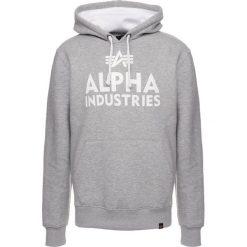 Bejsbolówki męskie: Alpha Industries FOAM PRINT HOODY Bluza z kapturem grey heather