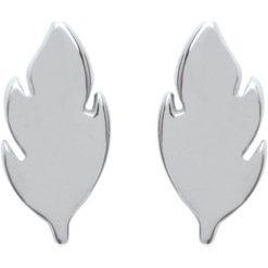 Kolczyki damskie: Srebrne kolczyki-wkrętki