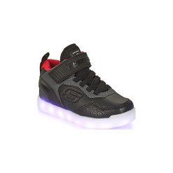 Buty Dziecko Skechers  ENERGY LIGHTS. Czarne trampki chłopięce Skechers. Za 239,00 zł.