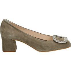 Buty ślubne damskie: Czółenka - N129 CAM FUMO
