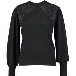 Swetry klasyczne damskie: Soft Rebels WIFE ROLLNECK Sweter black