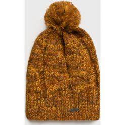Dakine - Czapka. Brązowe czapki zimowe damskie Dakine, na zimę, z dzianiny. Za 99,90 zł.