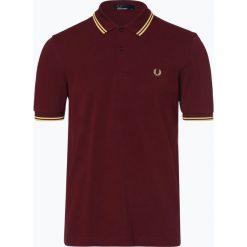 Fred Perry - Męska koszulka polo, czerwony. Czerwone koszulki polo Fred Perry, l, z bawełny. Za 349,95 zł.