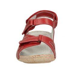 SANDAŁY VINCEZA R14-D-SD-232. Czerwone sandały damskie marki Melissa, z kauczuku. Za 89,99 zł.