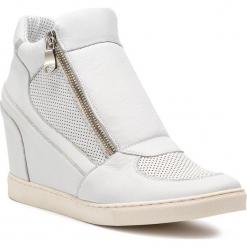 Sneakersy GINO ROSSI - Taniko DTH883-Z54-0355-1183-0 00/09. Białe sneakersy damskie Gino Rossi, z materiału. W wyprzedaży za 419,00 zł.