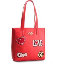 Torebka LOVE MOSCHINO - JC4081PP17LJ0500 Rosso. Czerwone torebki klasyczne damskie marki Love Moschino, ze skóry ekologicznej, duże. Za 909,00 zł.