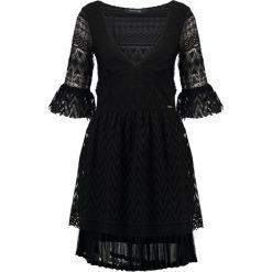 Sukienki hiszpanki: MARCIANO LOS ANGELES Sukienka letnia jet black w/ frost g