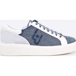 Liu Jo - Buty. Szare buty sportowe damskie marki Liu Jo, z materiału. W wyprzedaży za 479,90 zł.