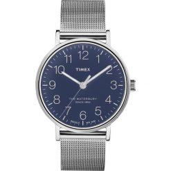 Zegarek Timex Męski TW2R25900 Waterbury Collection Mesh srebrny. Szare zegarki męskie Timex, srebrne. Za 444,76 zł.