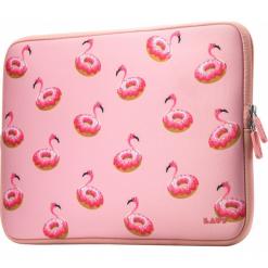 Torby na laptopa: Laut Pop Flaming-O Protective Sleeve 13″ różowe