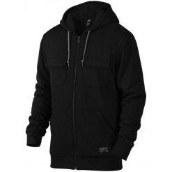 Oakley Bluza Sportowa Agent Hoodie Jet Black M. Czarne bluzy męskie rozpinane marki Oakley, m. W wyprzedaży za 229,00 zł.