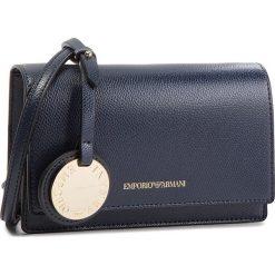 Torebka EMPORIO ARMANI - Y3B086 YH15A 88293 Midnight Blue/Black. Niebieskie listonoszki damskie Emporio Armani, ze skóry ekologicznej. W wyprzedaży za 389,00 zł.