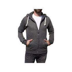 Rozpinana bluza UNDERWORLD z kapturem. Szare bluzy męskie rozpinane marki Underworld, m, z nadrukiem, z bawełny. Za 149,99 zł.