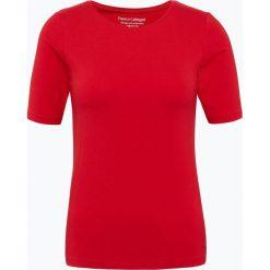 Franco Callegari - T-shirt damski, czarny. Zielone t-shirty damskie marki Franco Callegari, z napisami. Za 69,95 zł.