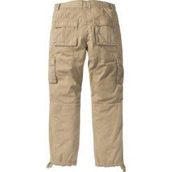 """Bojówki męskie: Spodnie bojówki """"Loose Fit Tapered"""" bonprix beżowy"""