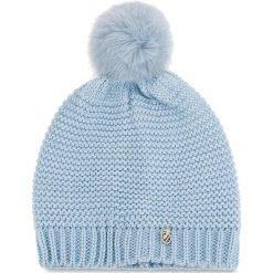 Czapka TRUSSARDI JEANS - Hat Knitted Pon Pon 59Z001169 U115. Szare czapki zimowe damskie marki Calvin Klein Jeans, na zimę, z jeansu. Za 189,00 zł.