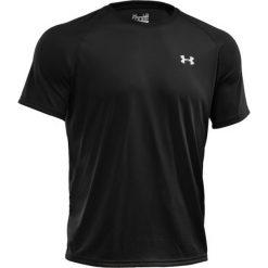 T-shirt Under Armour Tech SS Tee 1228539-001. Czarne t-shirty męskie marki Under Armour, m, z materiału. W wyprzedaży za 89,99 zł.
