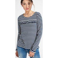 T-shirty damskie: Koszulka z falbanką