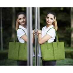 Duża Torebka - Minimalistyczna -Niska Zielona. Zielone torebki klasyczne damskie Pakamera, duże. Za 89,00 zł.