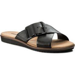Chodaki damskie: Klapki CLARKS - Kele Heather 261335774  Black Leather