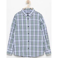 Koszula w kratę - Zielony. Zielone koszule chłopięce marki Reserved. Za 139,99 zł.